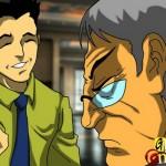 Gay porn comics : Interracial gay lust Gay blowjob comics Gay Comics